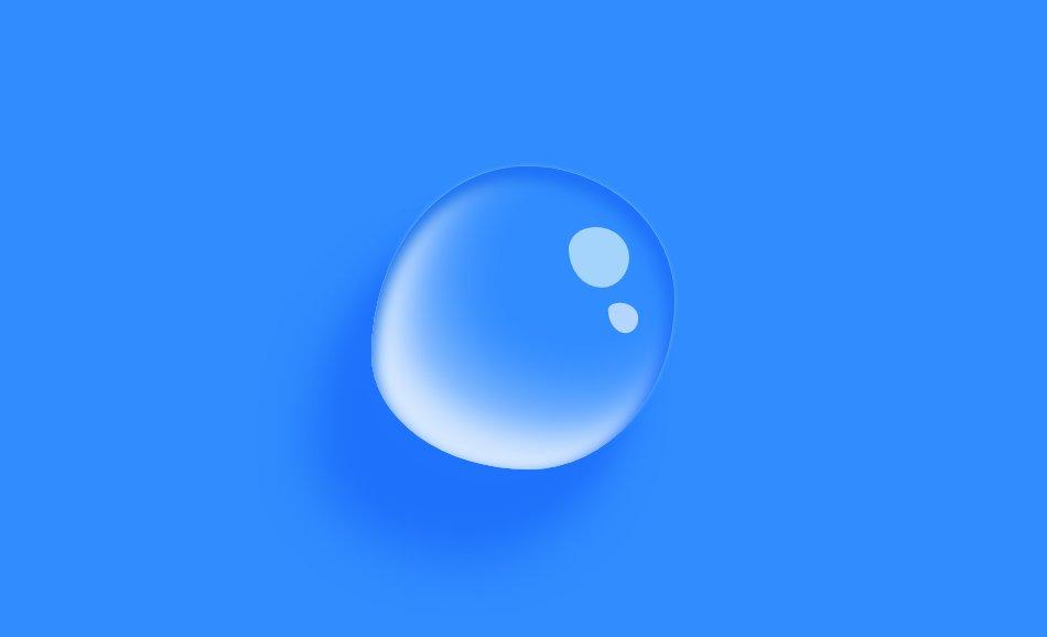 CSS绘制水滴💧